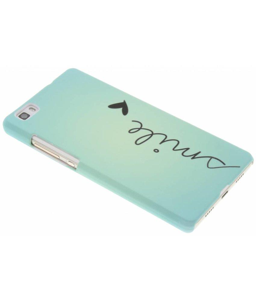 Design hardcase hoesje Huawei P8 Lite