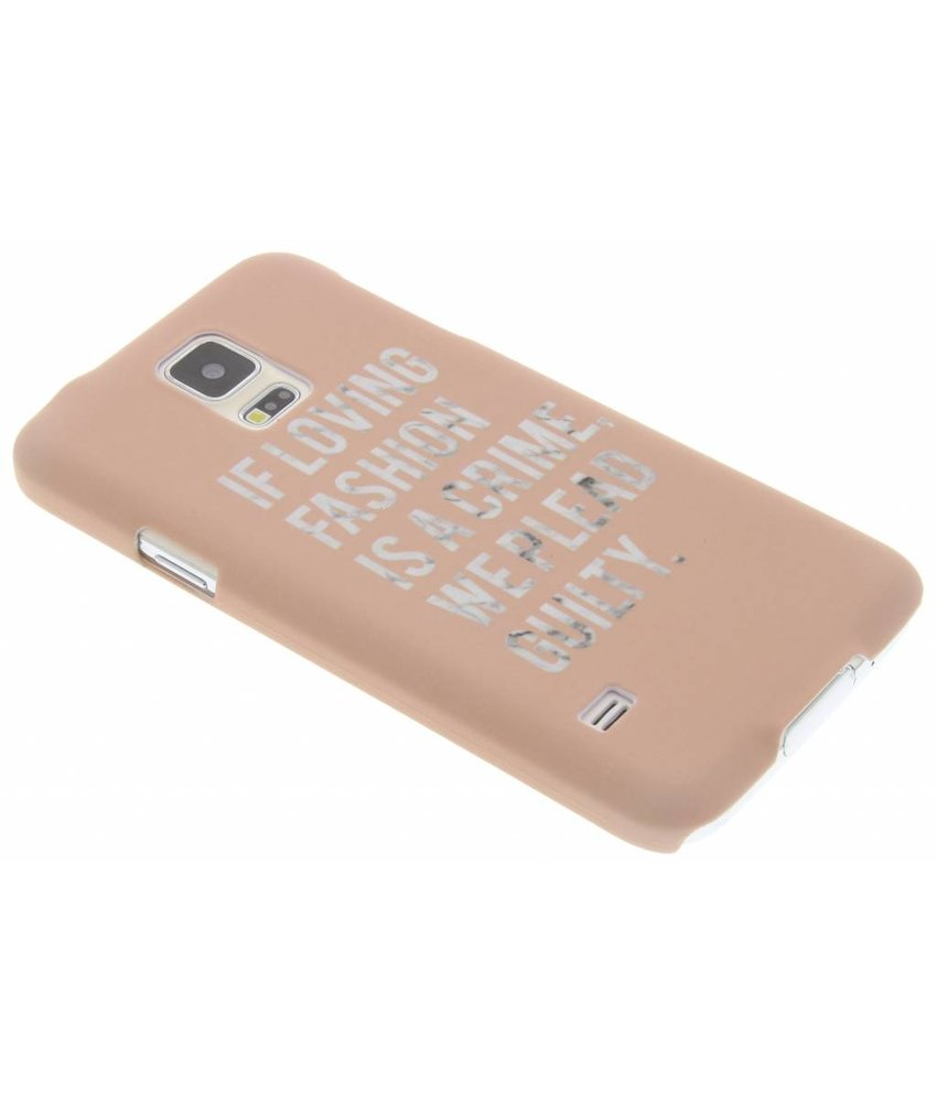 Fuchsia Simple Étui En Silicone Tpu Pour Samsung Galaxy S5 (plus) / Neo 1QsWJy
