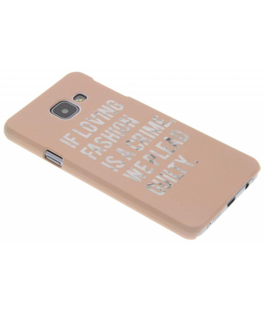 Design hardcase hoesje Samsung Galaxy A3 (2016)