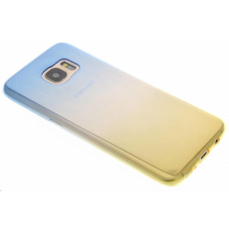 Bicolor Vert / Jaune Tpu Etui En Silicone Pour Huawei Lite P10 peYkyIG