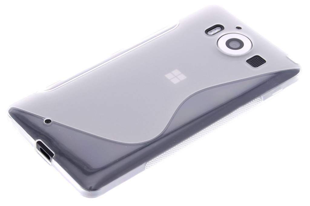 S-line Transparent Cas De Tpu Pour Microsoft Lumia 950 Xl vRmjDD