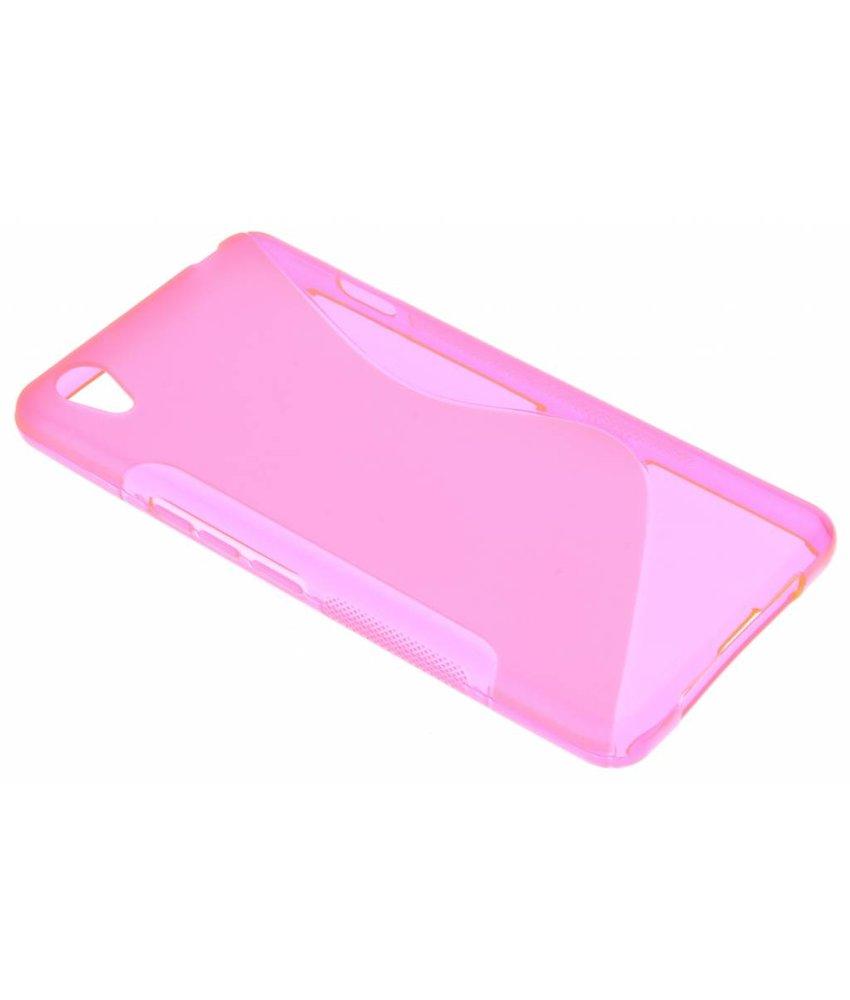 Roze S-line TPU hoesje OnePlus X