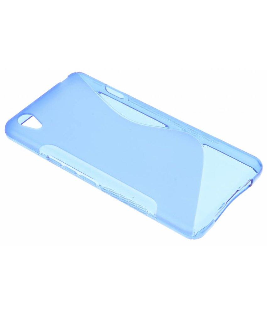 Blauw S-line TPU hoesje OnePlus X