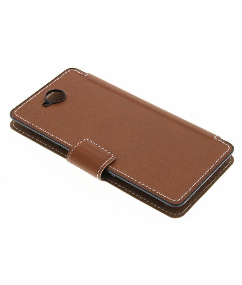 Mozo Flip Cover Microsoft Lumia 650 - Cognac