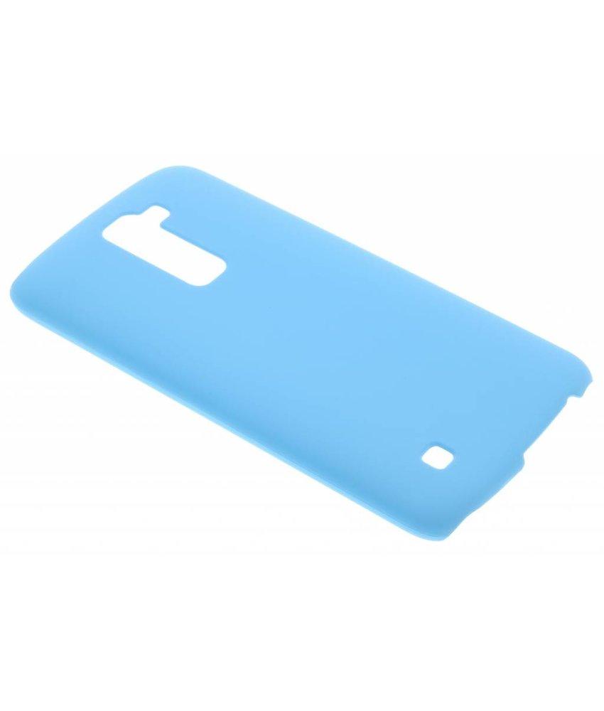 Lichtblauw effen hardcase hoesje LG K10