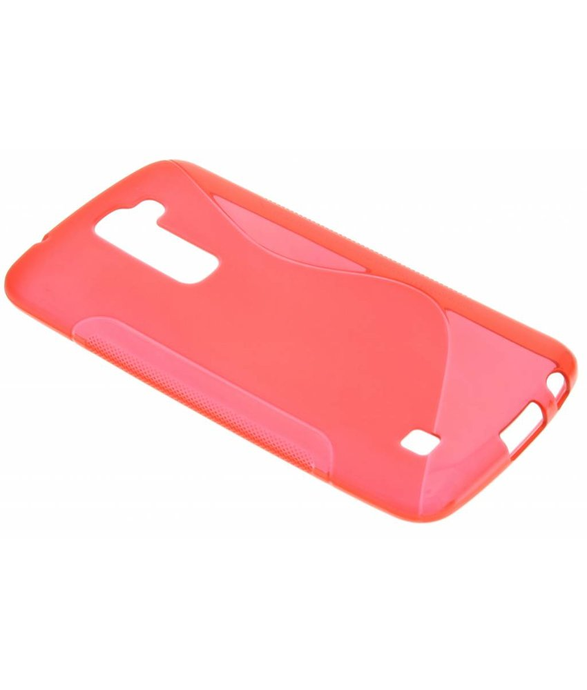 Rood S-line TPU hoesje LG K10