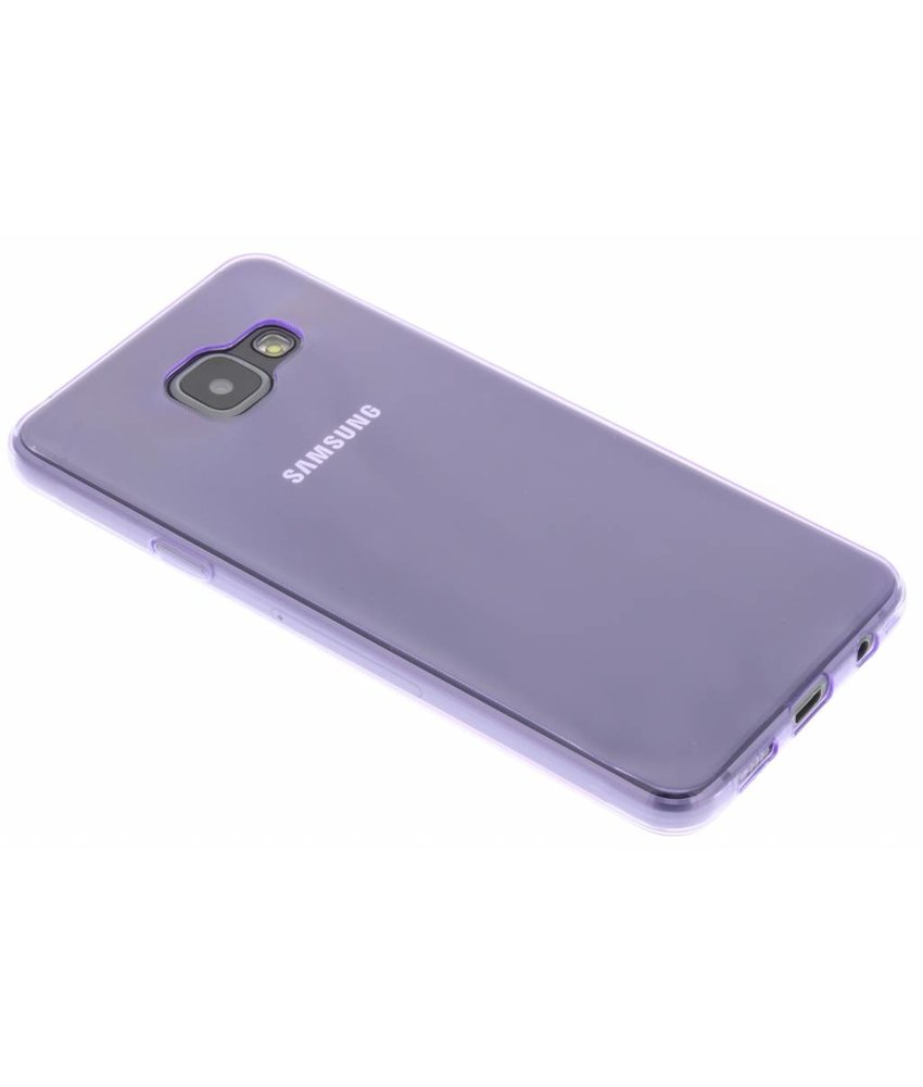 Paars ultra thin transparant TPU hoesje Samsung Galaxy A3 (2016)