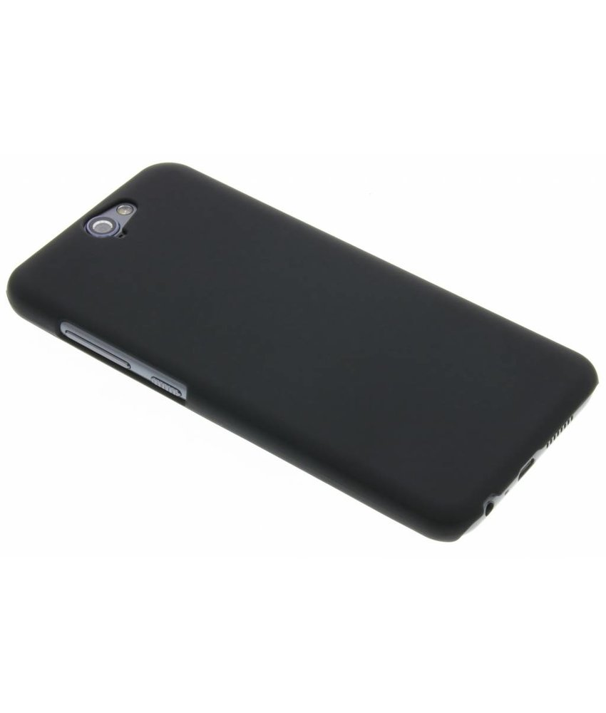 Zwart effen hardcase hoesje HTC One A9
