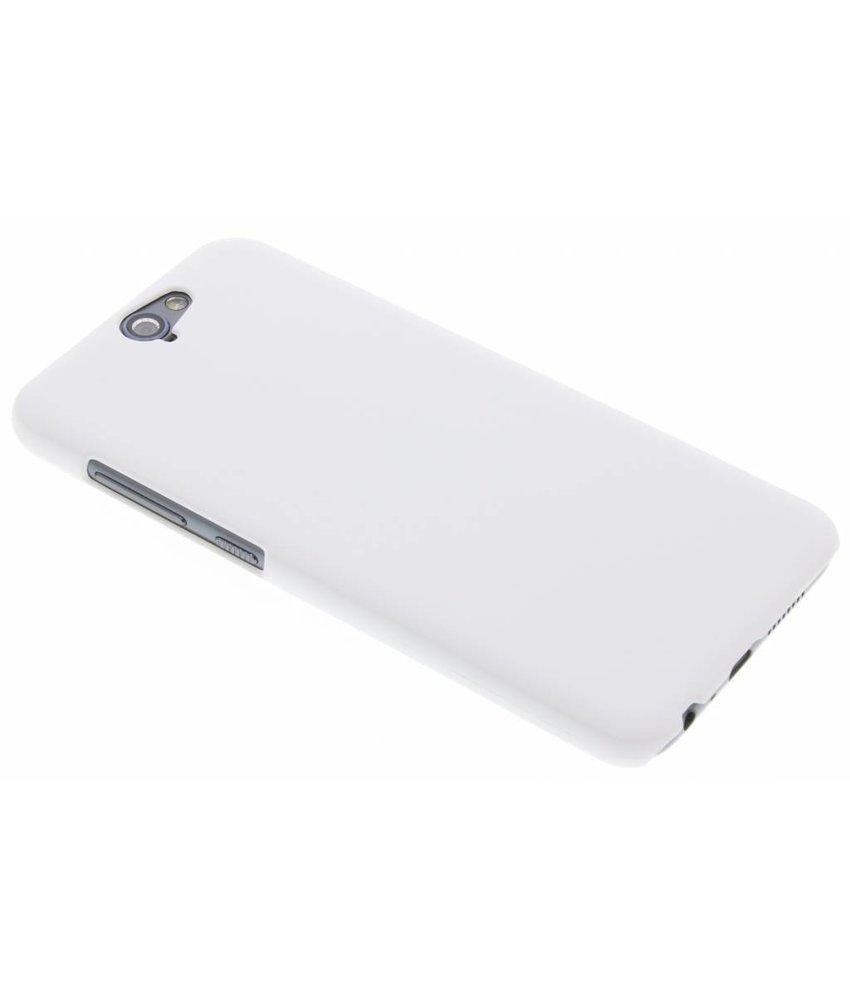 Wit effen hardcase hoesje HTC One A9