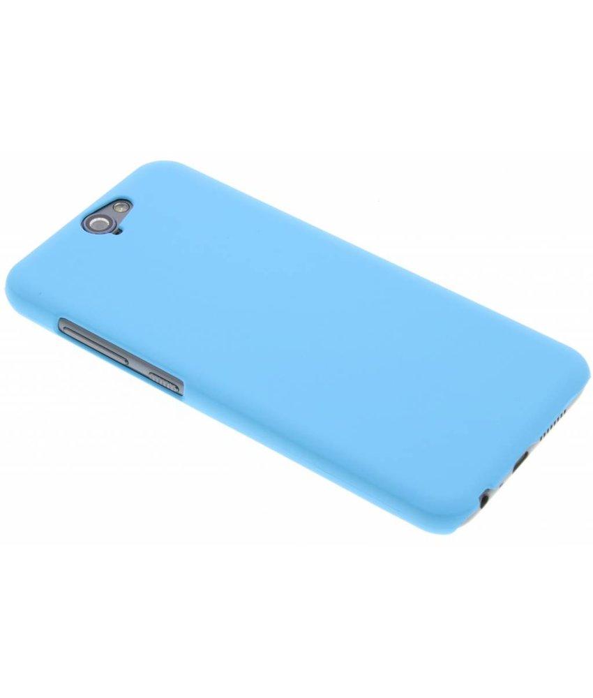 Turquoise effen hardcase hoesje HTC One A9