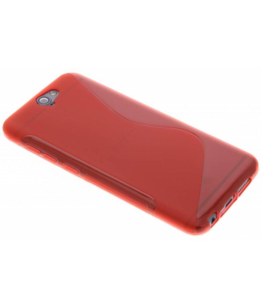 Rood S-line TPU hoesje HTC One A9