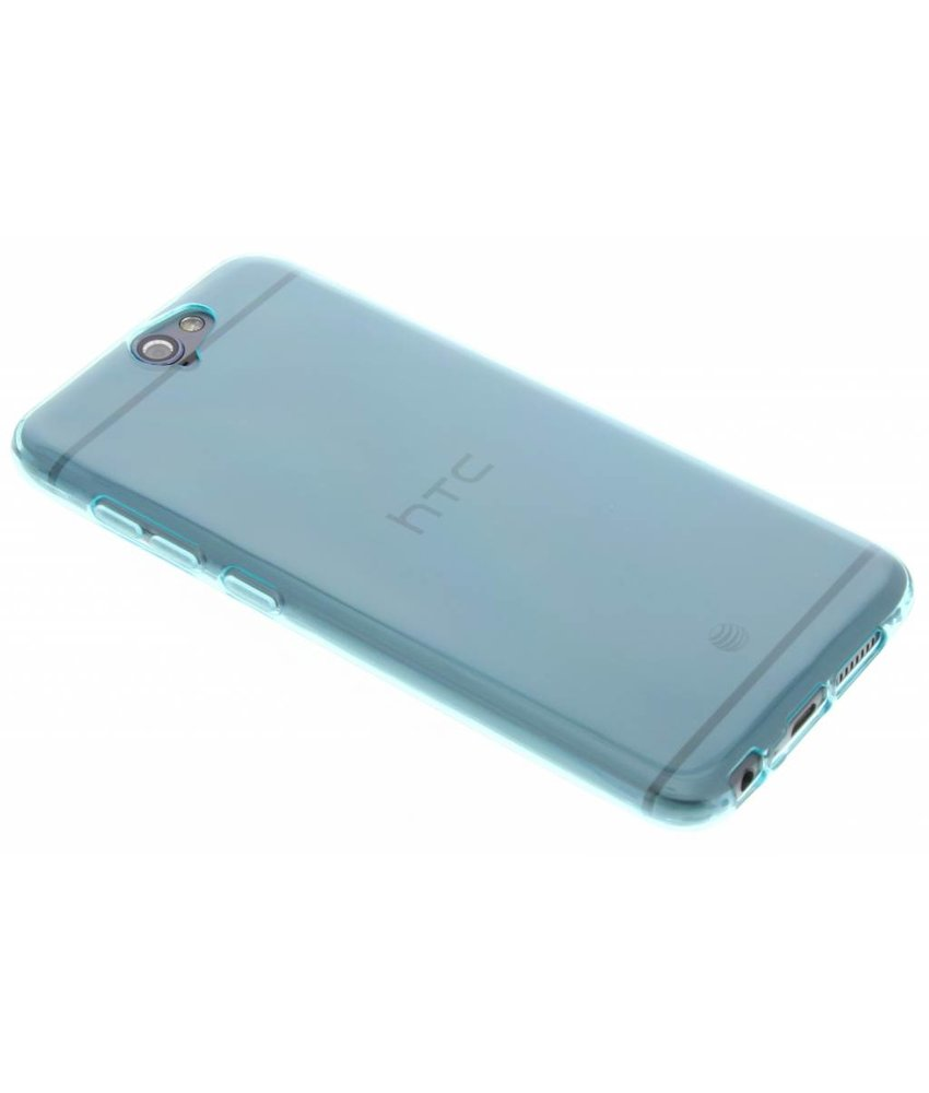 Turquoise transparant gel case HTC One A9