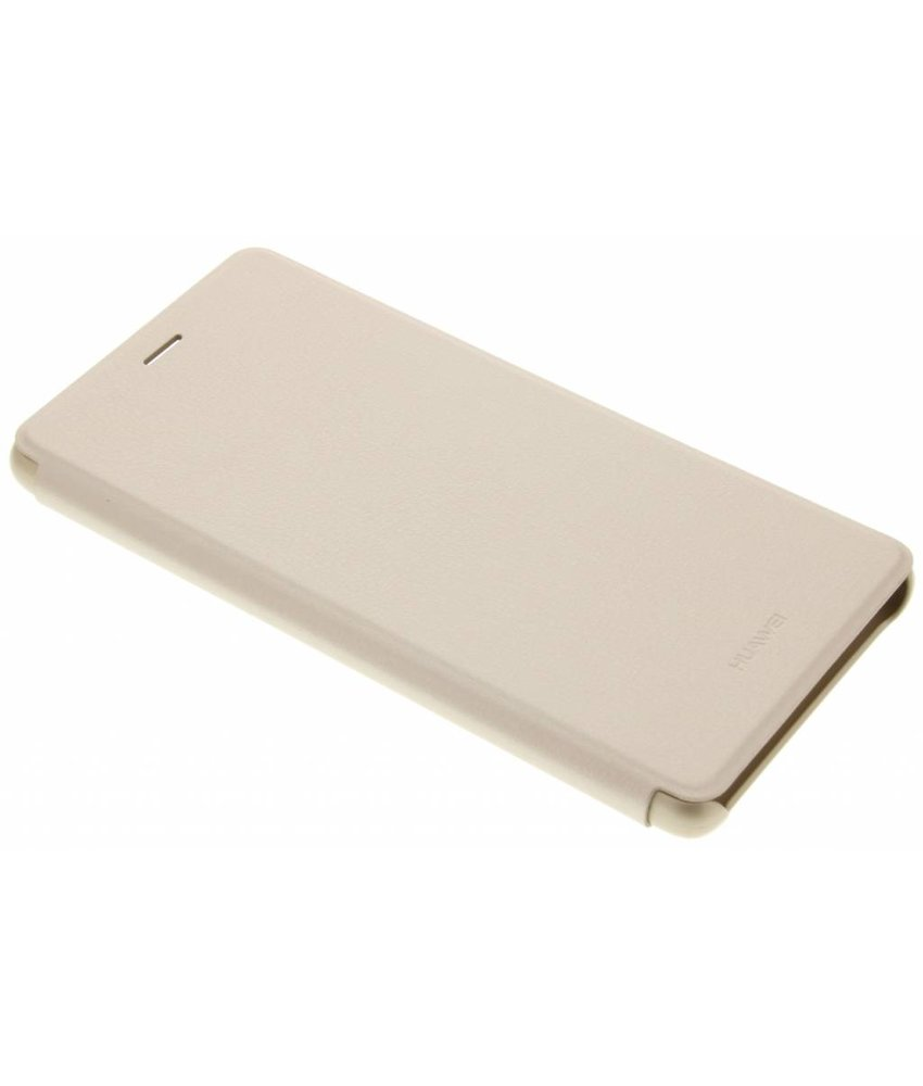 Huawei Slim Book Case P9 Lite - Goud