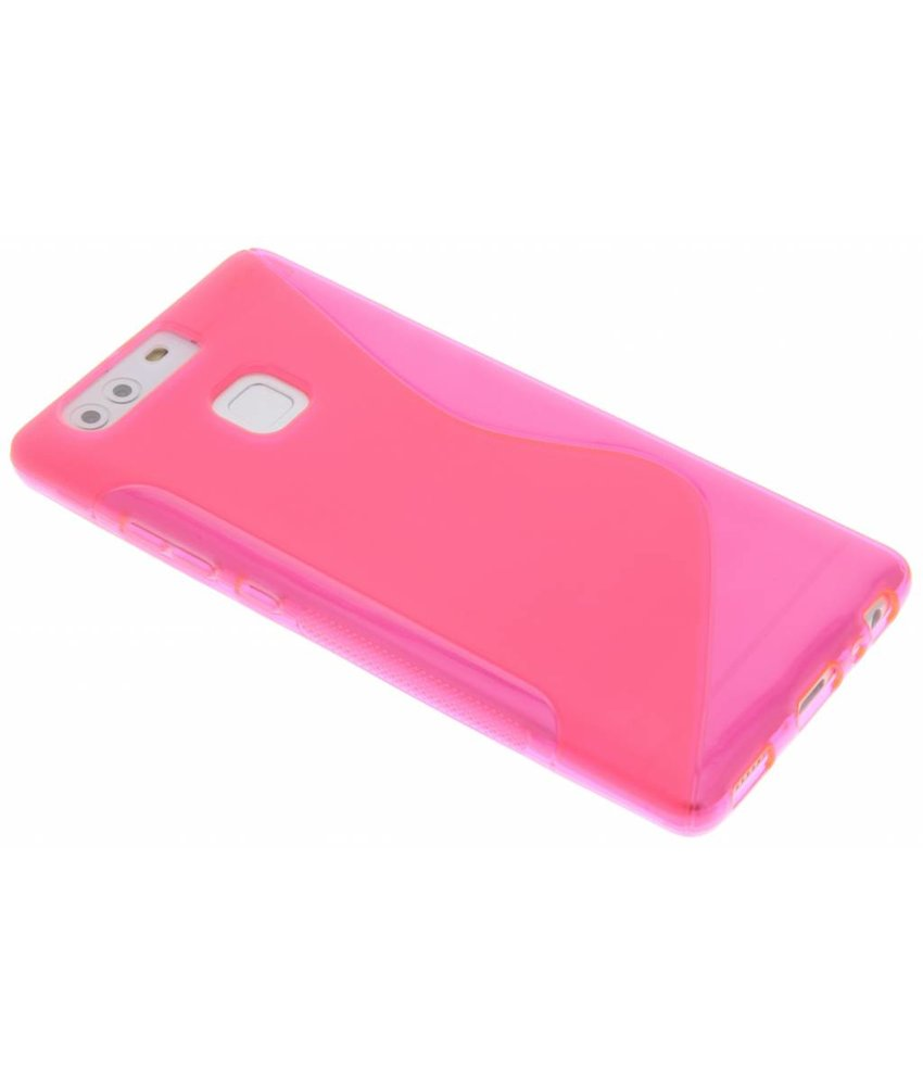 Rosé S-line TPU hoesje Huawei P9
