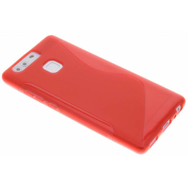 Rood S-line TPU hoesje Huawei P9