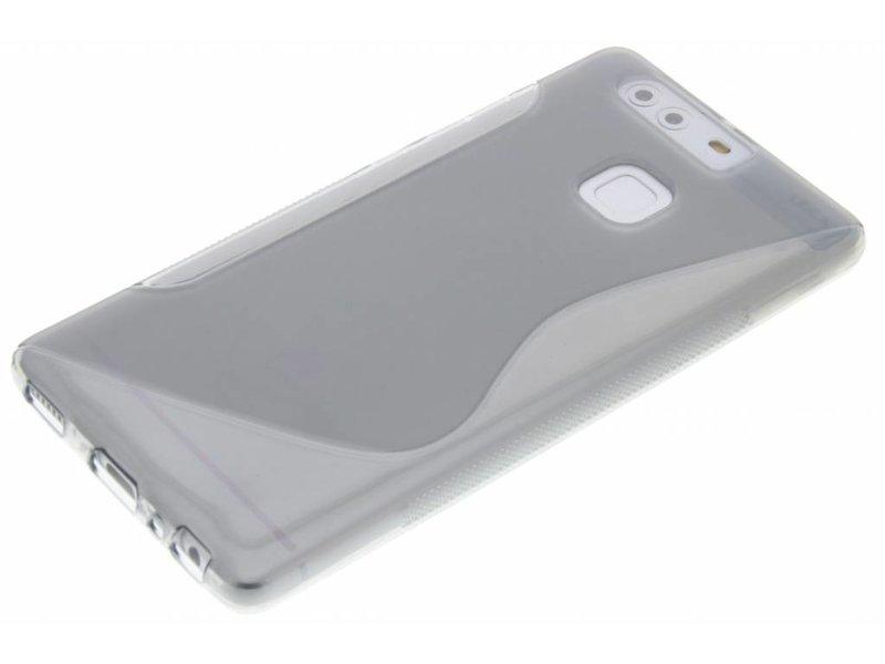 Huawei P9 hoesje - Grijs S-line TPU hoesje
