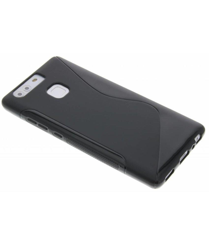 Zwart S-line TPU hoesje Huawei P9