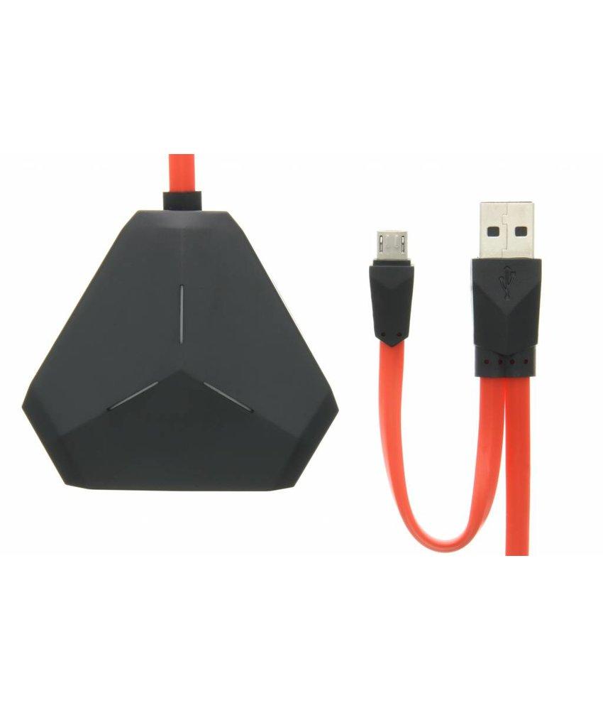 REMAX 3-Poorts USB Hub + Micro-USB OTG adapter