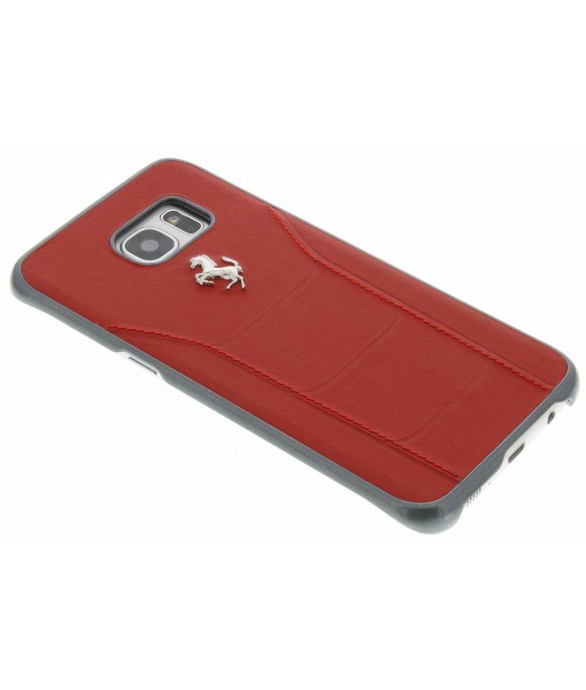 Ferrari Fiorano Hard Case Samsung Galaxy S7 Edge - Rood