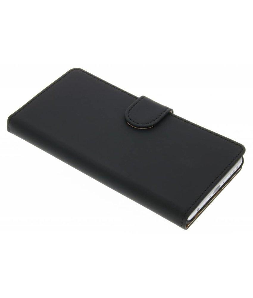 Zwart effen booktype hoes Huawei P9