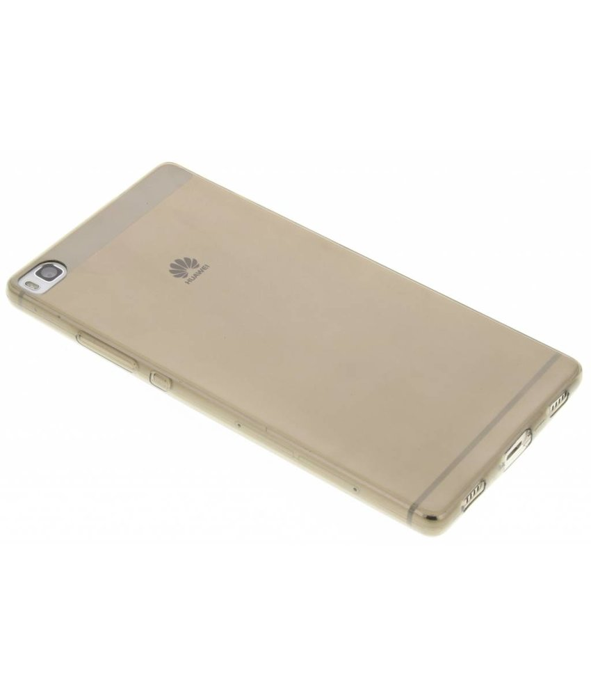 Grijs ultra thin transparant TPU hoesje Huawei P8