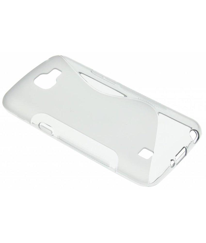 Grijs S-line TPU hoesje LG K4