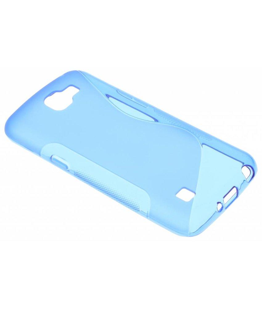 Blauw S-line TPU hoesje LG K4