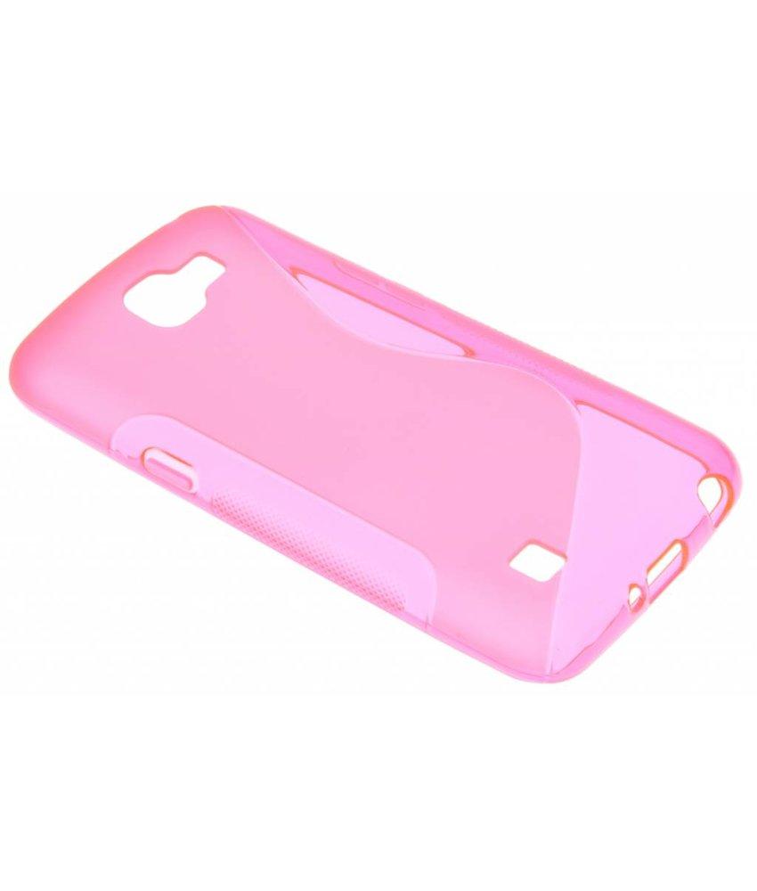 Rosé S-line TPU hoesje LG K4