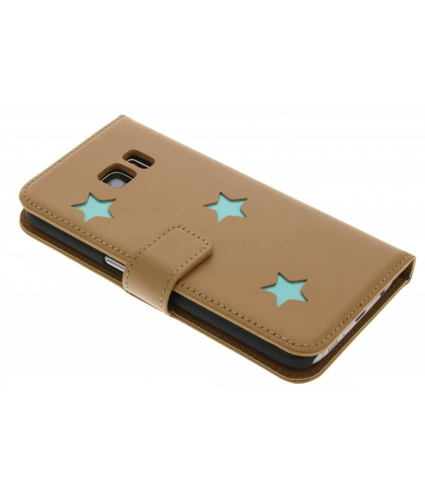 Fab. Aqua Reversed Star Booktype Samsung Galaxy S7