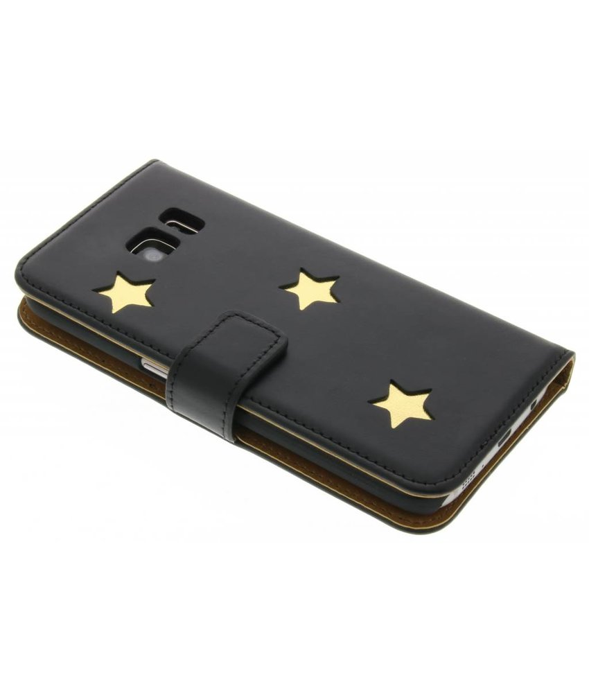 Fab. Gold Reversed Star Booktype Samsung Galaxy S7
