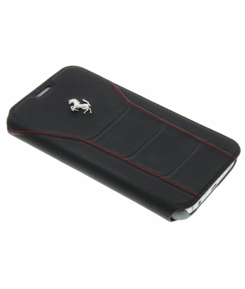 Ferrari Leather Booktype Case Samsung Galaxy S7 - Zwart