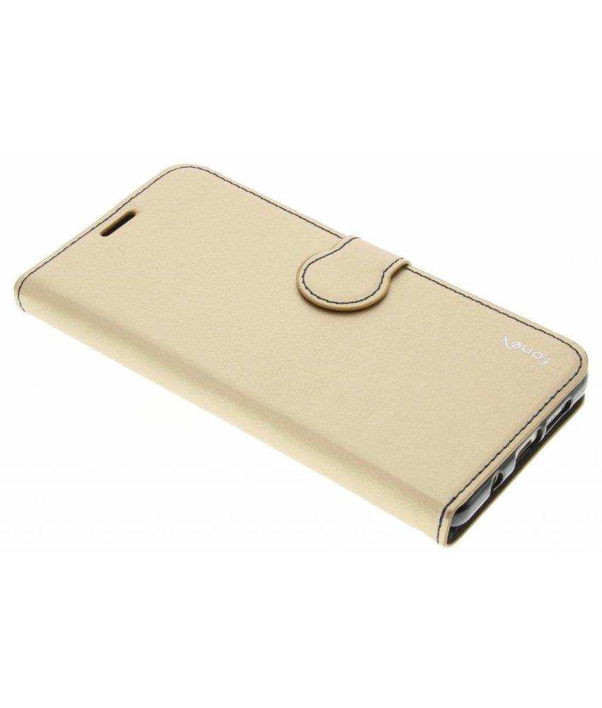 Fonex Identity Bookcase Samsung Galaxy A5 (2016) - Goud