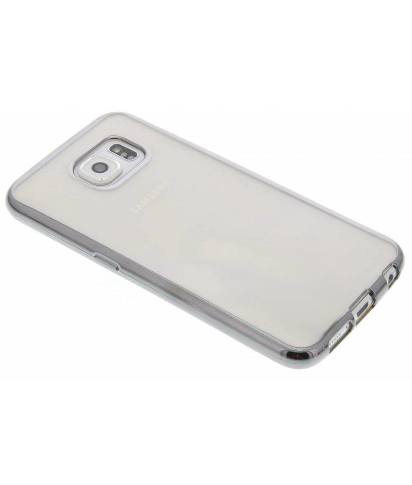 TPU hoesje met metallic rand Samsung Galaxy S6