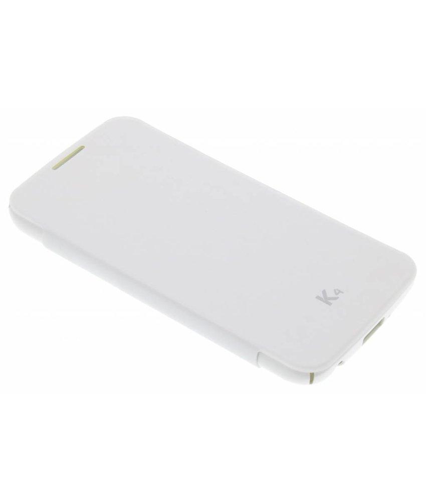 LG Premium Flipcase LG K4 - Wit