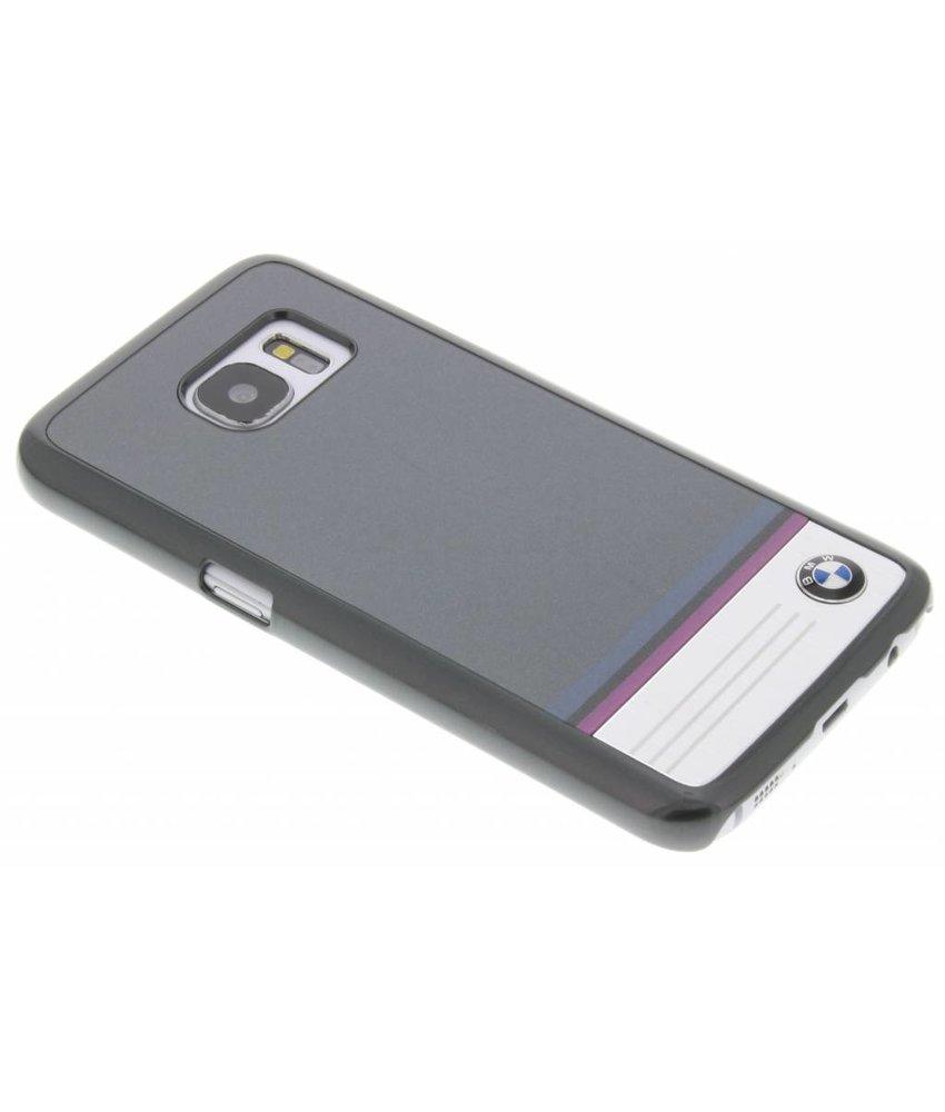 BMW Hard Case Aluminium Plate Samsung Galaxy S7 - Grijs