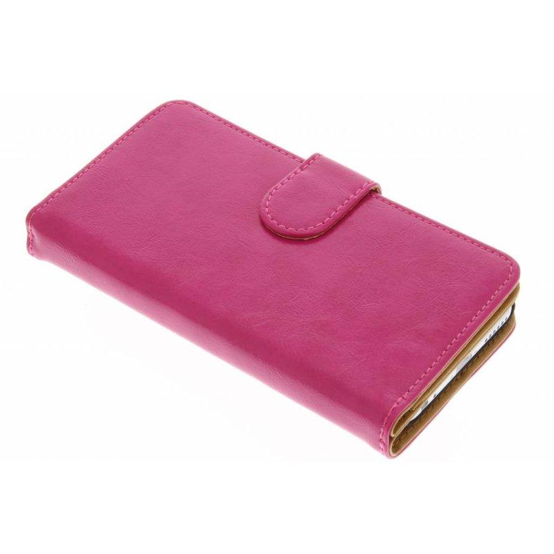 Fuchsia 14-vaks wallet case iPhone 6 / 6s
