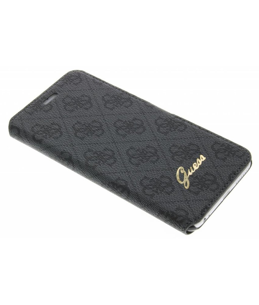 Guess Design booktype hoes iPhone 6(s) Plus - Zwart