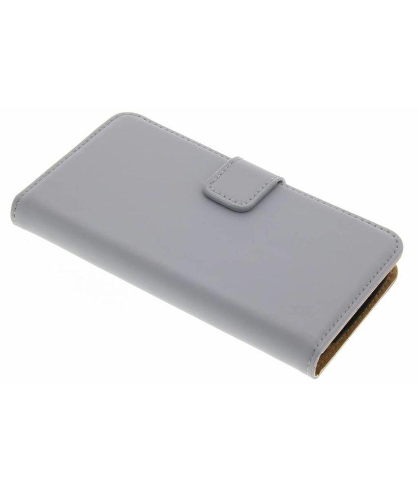 Selencia Luxe Book Case LG K4 - Grijs