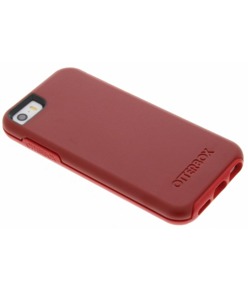 OtterBox Symmetry Series Case iPhone 5 / 5s / SE - Rood