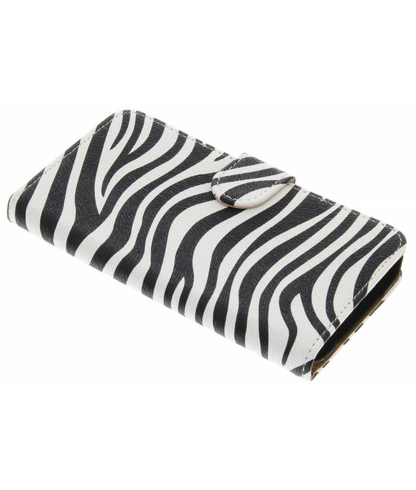 Zebra booktype hoes LG K10