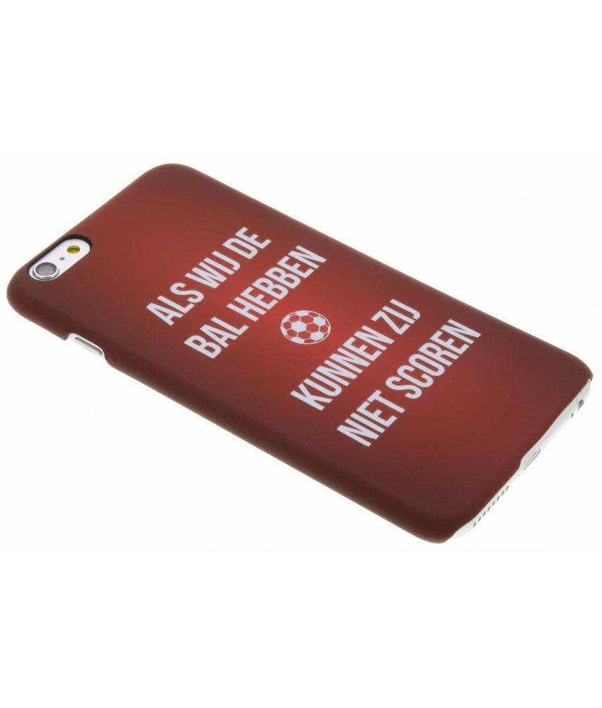 Cruijff quote hardcase hoesje iPhone 6(s) Plus