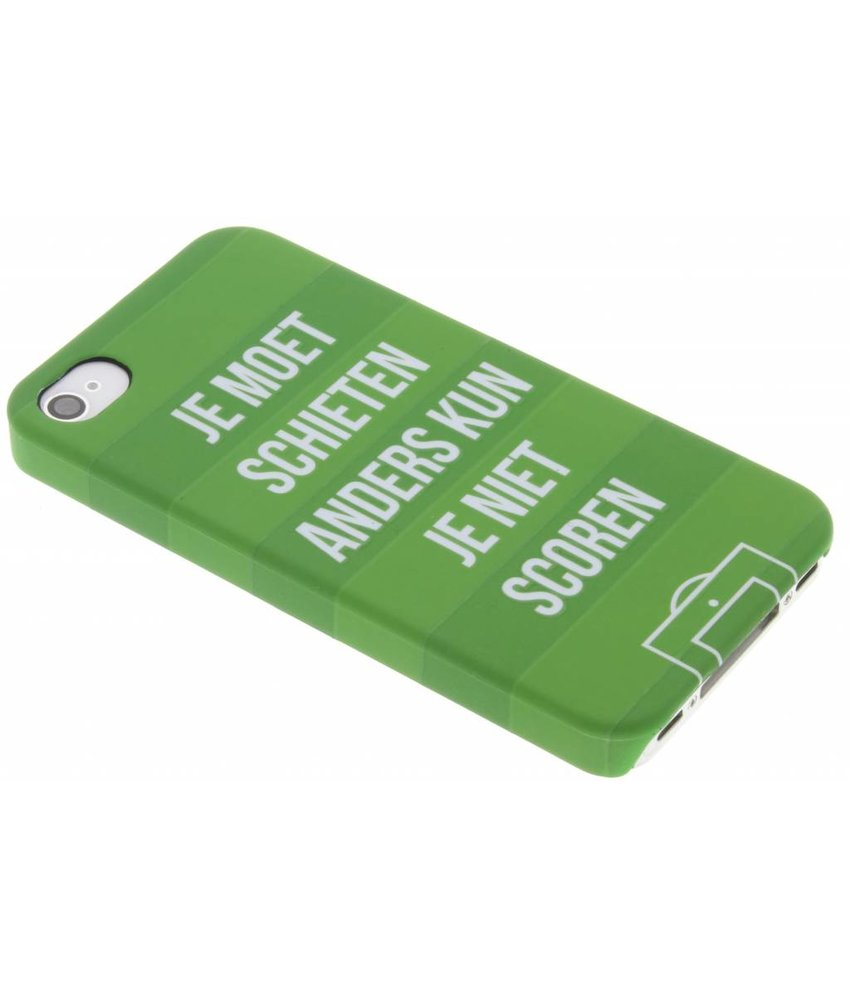 Cruijff quote hardcase hoesje iPhone 4 / 4s