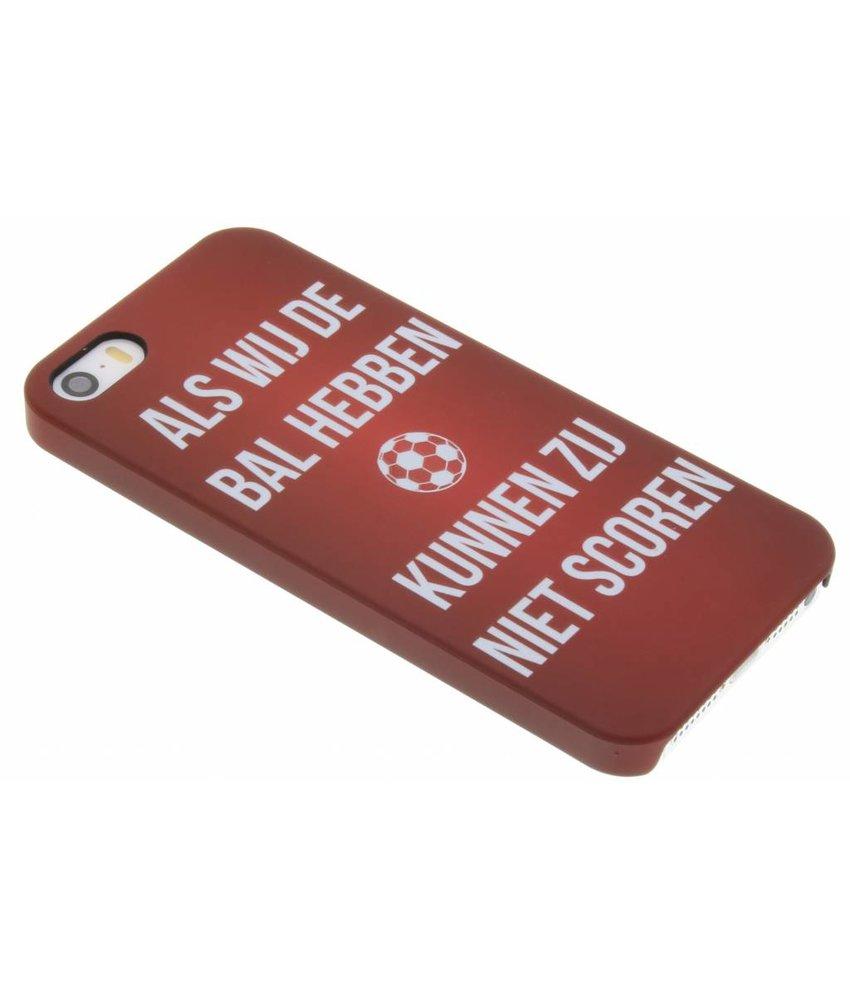 Cruijff quote hardcase hoesje iPhone 5 / 5s / SE