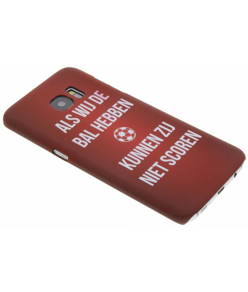 Cruijff quote hardcase hoesje Samsung Galaxy S7 Edge