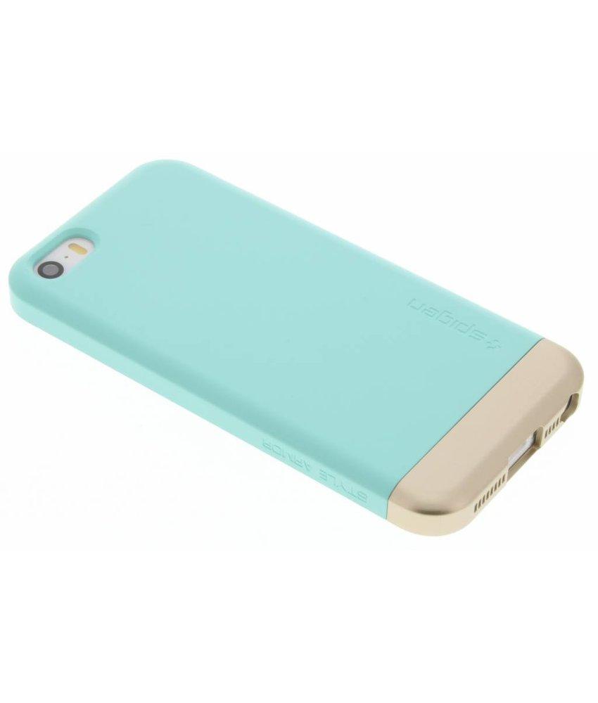 Spigen Style Armor Case iPhone 5 / 5s / SE - Mint