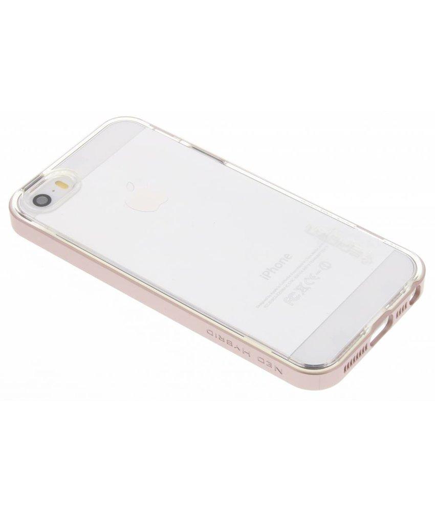 Spigen Neo Hybrid Crystal Case iPhone 5 / 5s / SE - Rosé goud