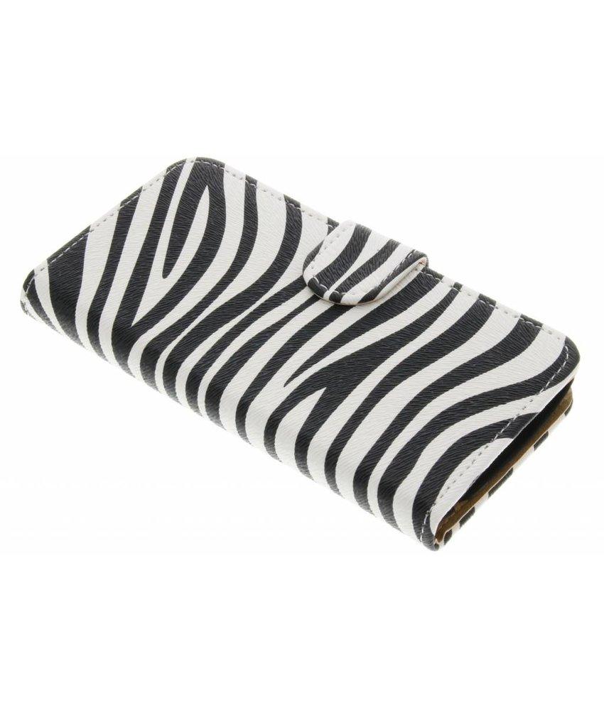 Zebra booktype hoes LG K4