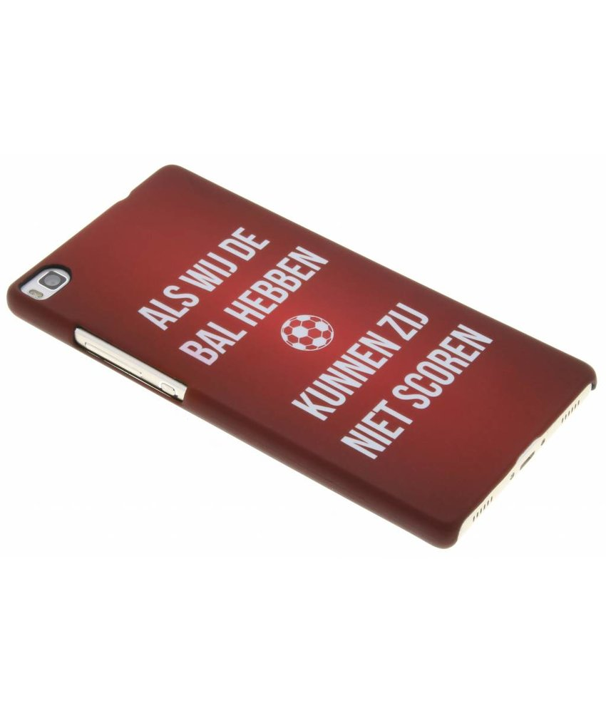 Cruijff quote hardcase hoesje Huawei P8