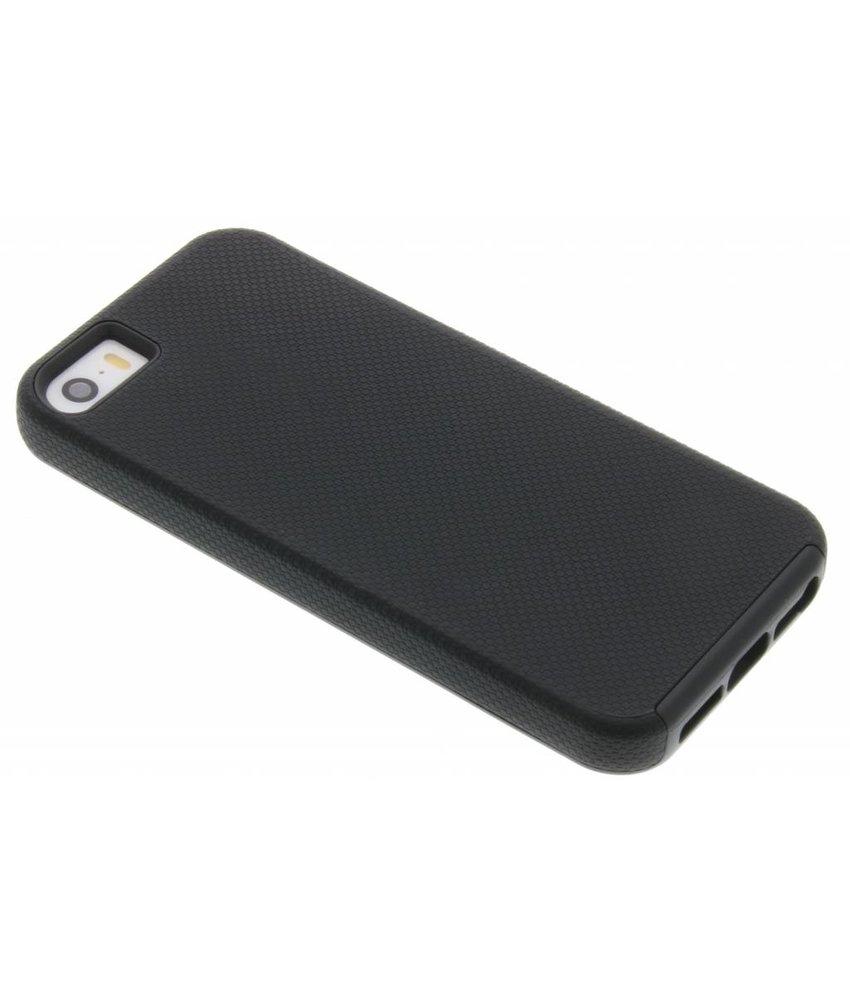 Zwart rugged case iPhone 5 / 5s / SE