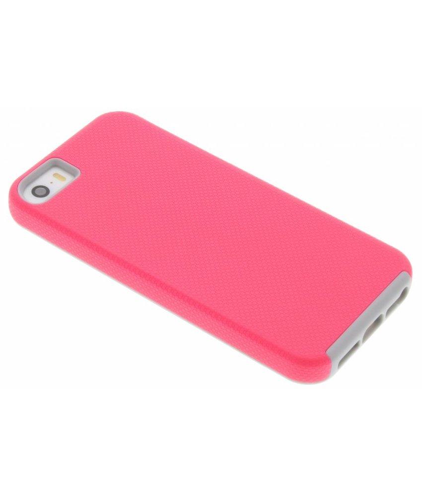 Roze rugged case iPhone 5 / 5s / SE